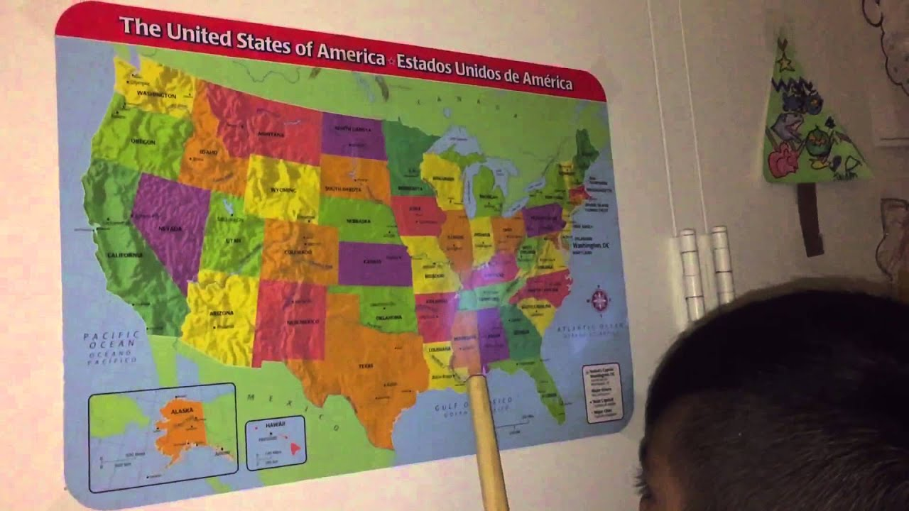 Learning United States Map.Learning United State Map Youtube