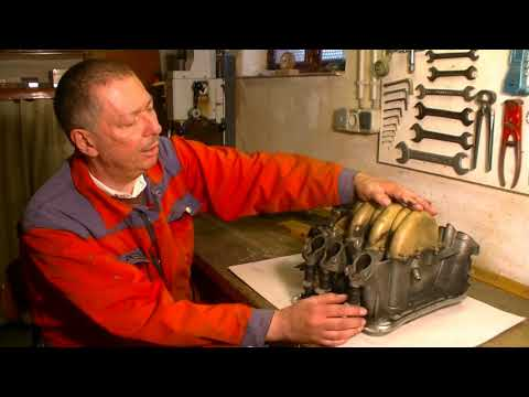 Repairing The Intake Manifold Of An Audi 100/A6 C4 With V6 Engine