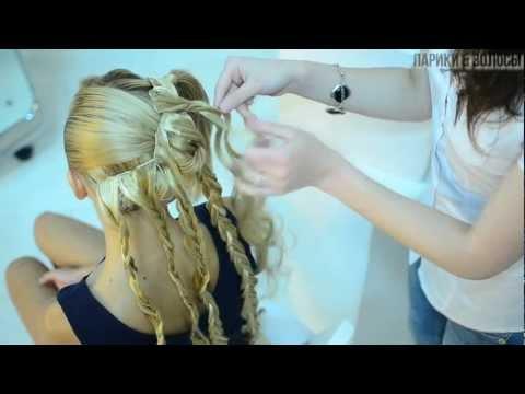 Свадебная причёска текстурный пучок  с накладными прядями