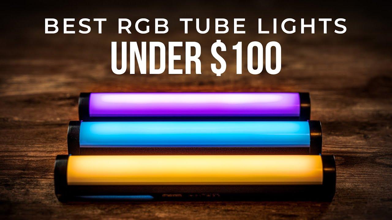 Nanlite Pavotube II 6C Review   Best RGB Tube Lights Under $100