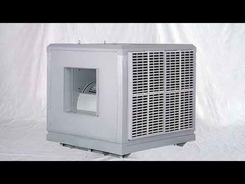 How to assemble water air cooler industry use cooling equip installation demo Refroidisseurs d'eau