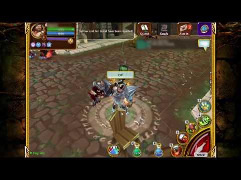Arcane Legends - Obtaining Glintstoned Set (Warrior)
