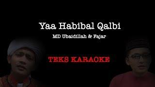 ya habibal qolbi karaoke versi