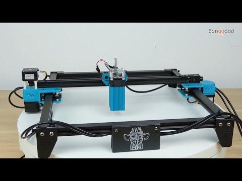 TOTEM S 40W Laser Engraving Machine For Metal Wood Stainless Steel Printer Cutte -Banggood Tool Sets