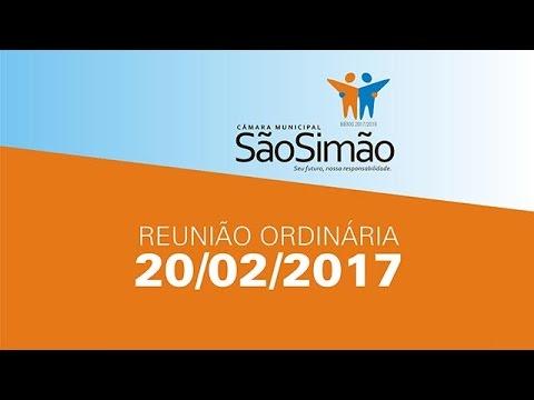 REUNIAO ORDINARIA 20/02/2017