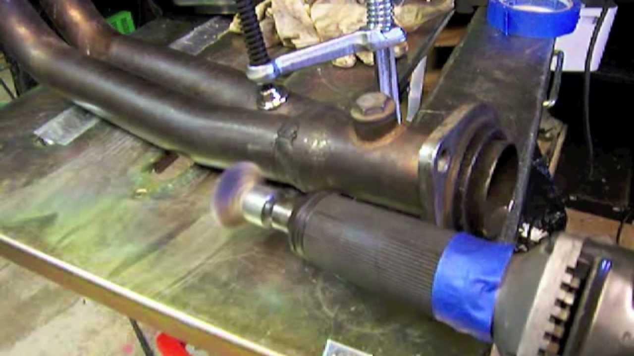 weld stainless steel exhaust