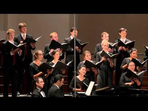"""""""An Die Heimat"""" from Drei Quartette, Op. 64 by Johannes Brahms"""