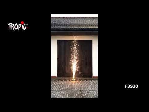 F3S30 - TROPIC Fireworks, Fajerwerki, Feuerwerk, Vuurwerk, Feu d'artifice
