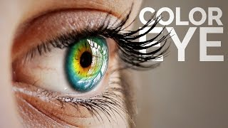 How to Color Eyes Creatively and Naturally in Photoshop thumbnail