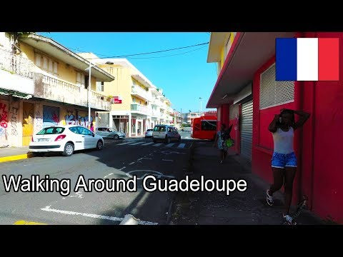 Guadeloupe - Pointe-a-Pitre Walking to Memorial ACTe - 2017 4K