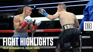 HIGHLIGHTS | Felix Alvarado vs. DeeJay Kriel