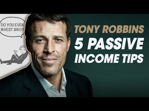 5 PASSIVE INCOME Tips From UNSHAKEABLE BY TONY ROBBINS [Book Review]