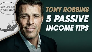 5 Passive Income Tips (Unshakeable by Tony Robbins) [Book Review]