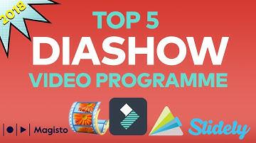 Die 5 besten Programme zum Erstellen von Diashow-Videos 2018 | Filmora