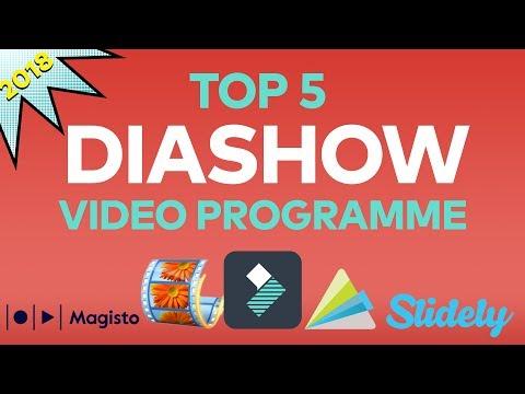 Die 5 besten Programme zum Erstellen von Diashow-Videos 2018