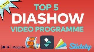Die 5 BESTEN Programme zum Erstellen von DIASHOW-Videos | Filmora screenshot 2