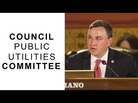 Columbus Public Utilities Committee, November 15, 2017