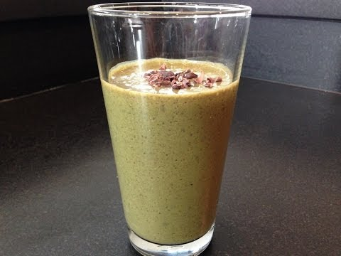 Mint Chocolate Protein Smoothie Recipes HASfit Healthy Smoothie Recipes Chocolate Smoothie