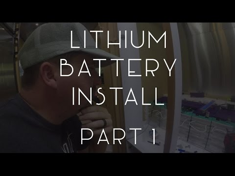 Airstream Lithium Battery Install Part 1 - TMWE S02 E111