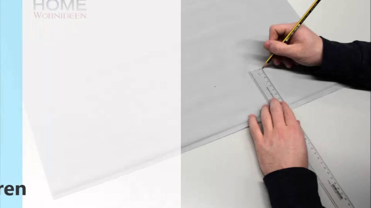 home wohnideen - digitaldruck-schiebevorhänge kürzen - youtube