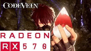 Code Vein Benchmark RX570 4GB - Highest Settings - 1080p (SMOOTH)