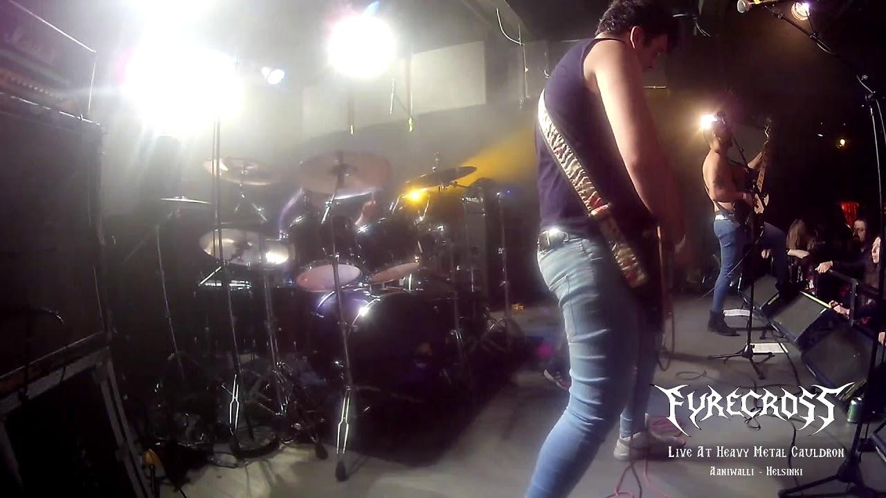 Fyrecross Live @ Heavy metal Cauldron - Heavy Steel - YouTube