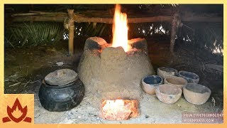 Primitive Technology: Pottery and Stove(, 2017-12-22T20:41:23.000Z)