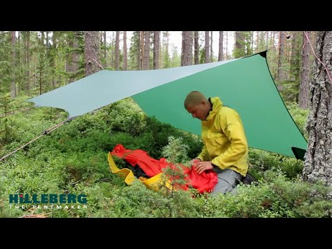 Using a Hilleberg Tarp