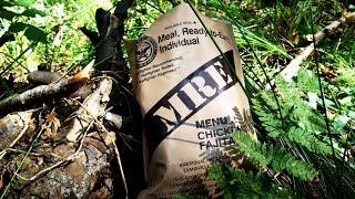 Полевая кухня Американский Сухой Паек MRE Menu 2(Полевая кухня Американский Сухой Паек MRE Menu 2 обзор в лесу !!! Композиция