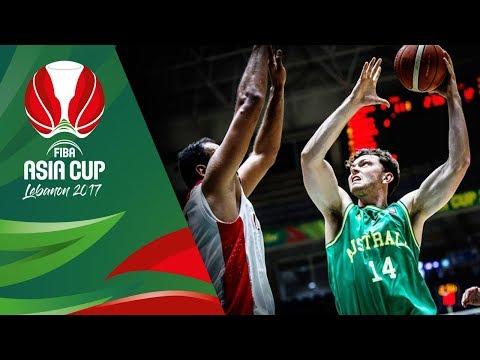 Iran v Australia - Full Game - Final - FIBA Asia Cup 2017