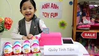Anh Anh chơi bán hàng siêu thị Anh Anh Toy Fun Shop