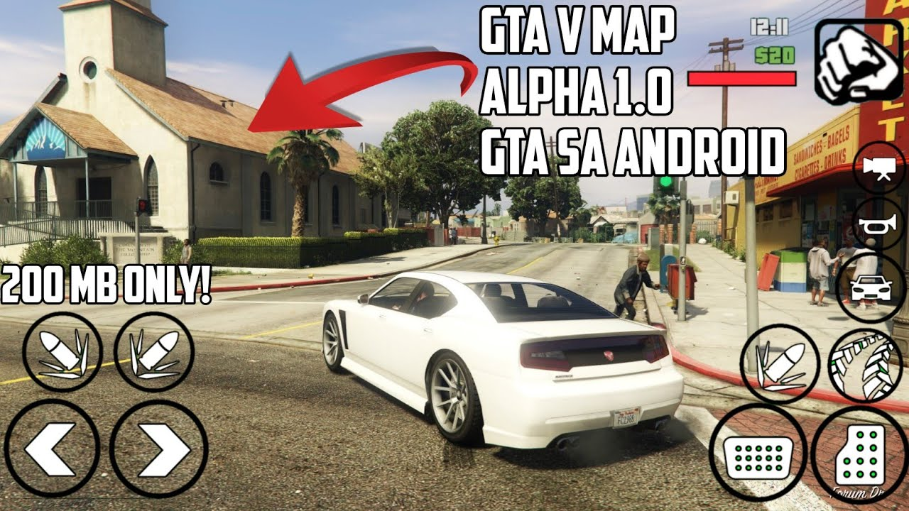 gta 5 mod download for android 200 mb