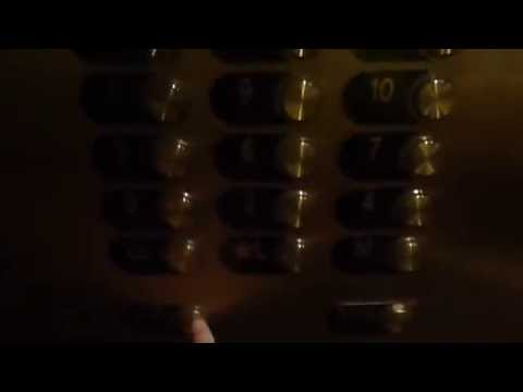 Haunted Hotel! Elevators at the Omni Parker House in Boston MA with look at haunted mirror