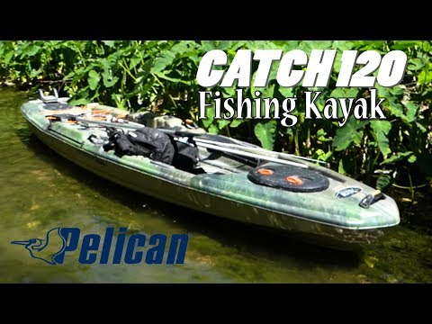 Academy Kayak - Pelican Catch 120. Best Kayak For Fishing? Love The Stability, Price, And Setup