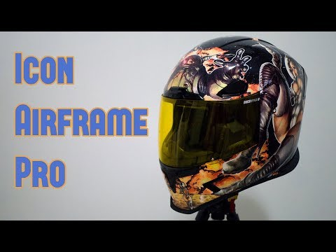 Icon Airframe Pro Barong Graphics [RP Helmet Reviews]Kaynak: YouTube · Süre: 12 dakika56 saniye