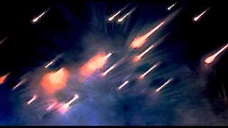 Huge UFO Sighting . FIREBALLS Fall from SKY . Meteorite