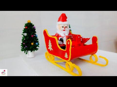 How To Make Santa Claus With Newspaper | Santa Claus Making At Home | DIY CraftsLane
