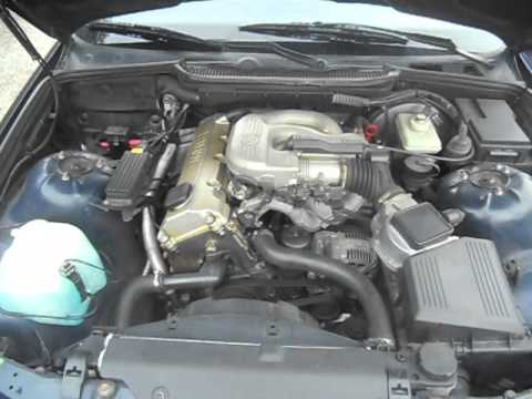 BMW 318i E36 engine start  YouTube