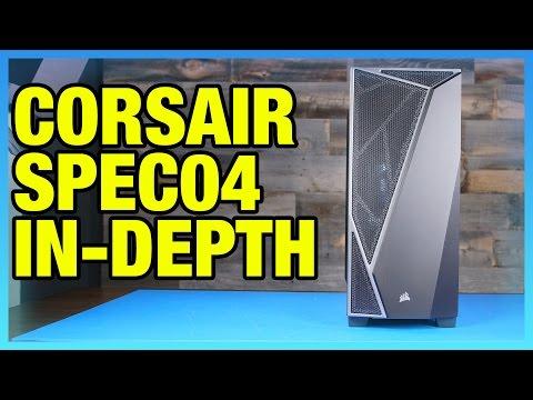 Corsair Spec-04 $50 Case Review: Fan Placement, Temps, Noise