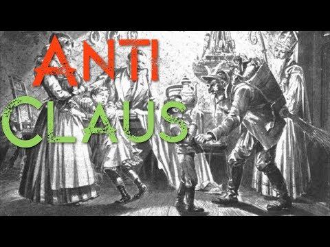Anti Claus, Krampus, Black Peter, Knecht Ruprecht, Pere Fouettard and Belsnickel