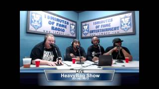 Goodz (@TheRealGoodz) Interview on 15 Minutes Of Fame Radio #HeavyBagShow