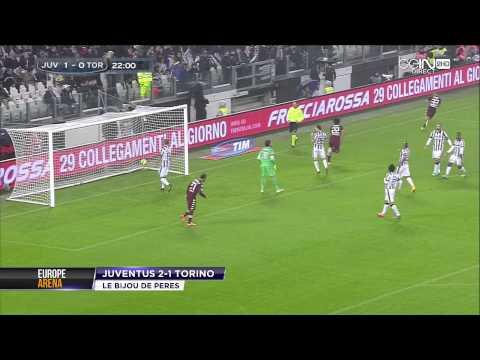 serie A 2014/2015 best goal BRUNO PERES - JUVENTUS VS TORINO