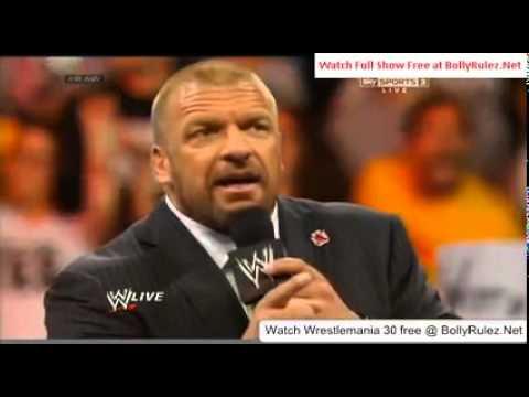 WWE Raw 3/31/14 Part 8
