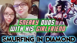 Sneaky duos with his Girlfriend (with Comms)
