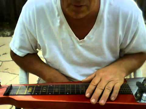 a lap steel guitar tuning in d & easy blues