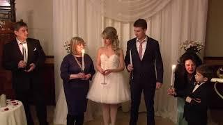 Дмитрий и Наталья_ церемония семейного очага на выездной церемонии_Одесса