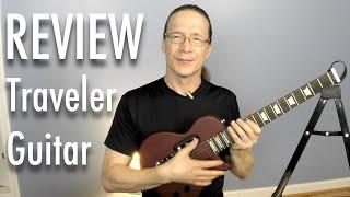 review traveler guitar eg1s red v2 standard electric