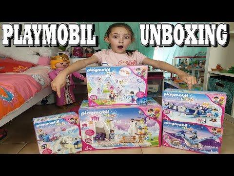 PLAYMOBIL UNBOXING : Playmobil MAGIC - Palais De Cristal (9470, 9471, 9472, 9473, 9474)