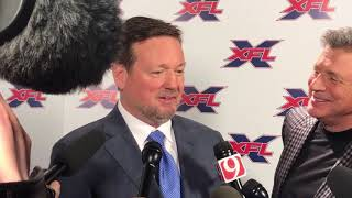 Stoops to be coach and GM of Dallas franchise