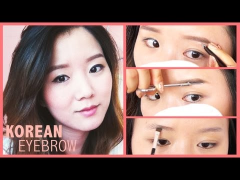 Tutorial jaclyn 자연스러운  Natural makeup 일자 Straight Korean hill Eyebrow natural Style everyday tutorial